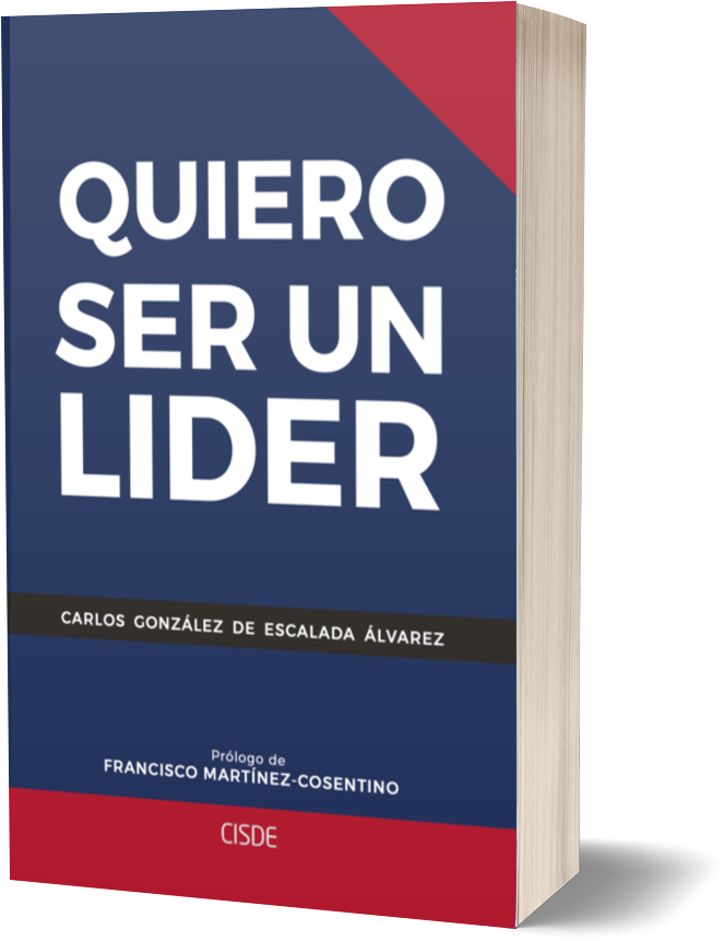 Representación del libro Quiero ser un líder